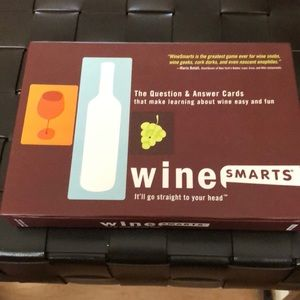 Wine Smarts question & answer card game